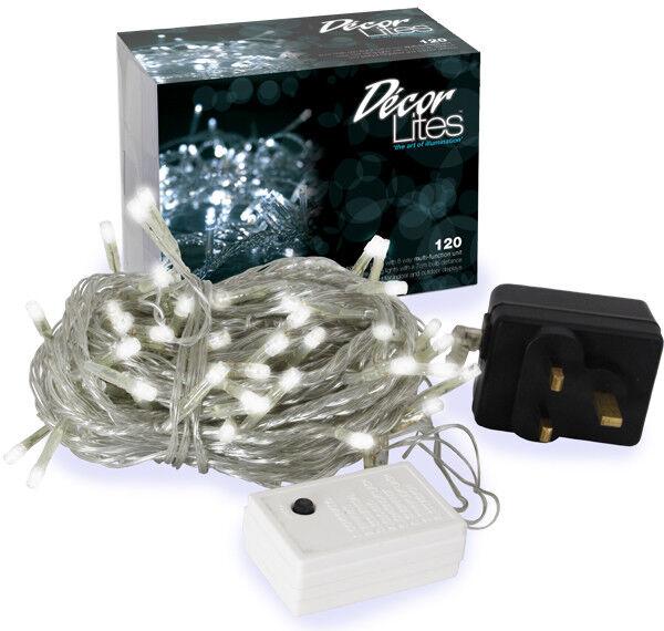 Weiß Decor Lites Klar Draht 120 Statische Led Lampen | Jeder beschriebene Artikel ist verfügbar  | Flagship-Store