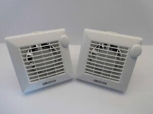 Vortice punto m100 4 4 100mm timer standard extractor fan bathroom shower white ebay - Estrattore bagno vortice ...
