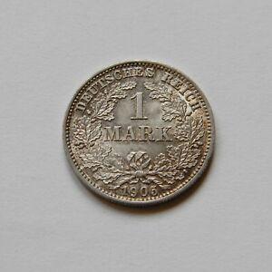 Imperio: 1 Marco 1905E, J. 17 , Recién Acuñado / UNC Genial Patina