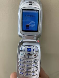 Cingular Samsung Flip Phone Charger Turns On Not Tested Parts Ebay