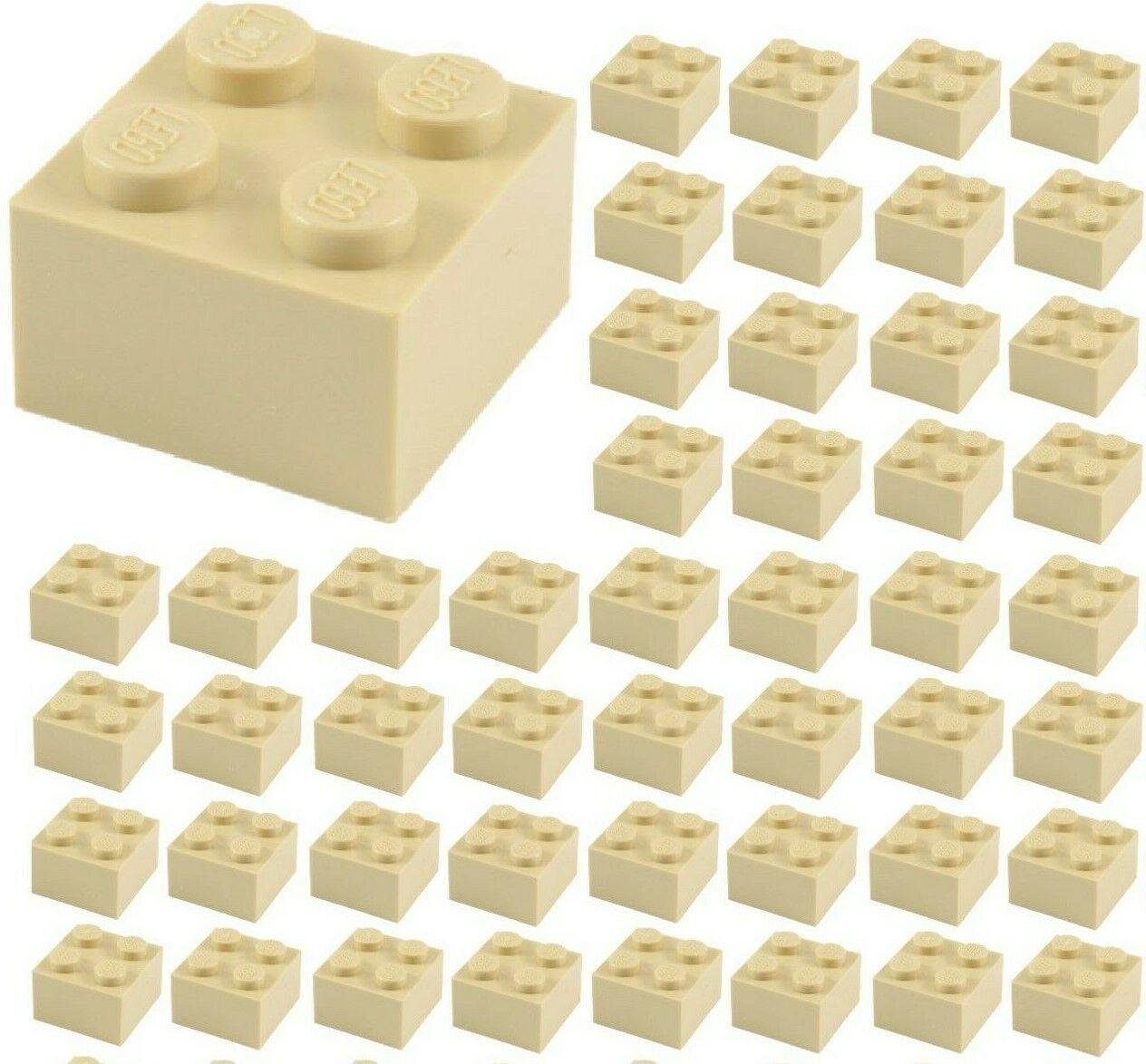 Lego 10 X Base Stone 2x2 Green Clear Transparent Green Basic Brick 3003