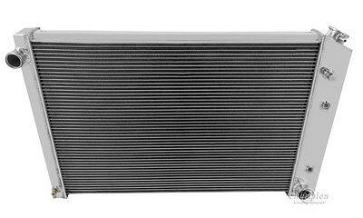 "19 x 28-1//4 /"" Core Aluminum Performance Radiator Cooling Systems CC716 3 Row"
