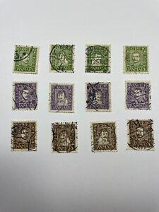 Denmark Scott 164-175 Danish Postal Service - With Free US Shipping