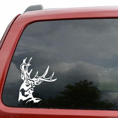 Buck Skull Sticker laptop phone Indoor outdoor car window truck