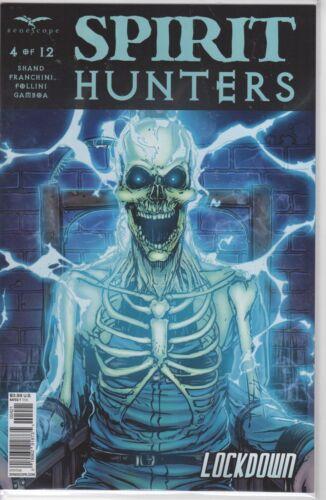 SPIRIT HUNTERS #4 Cover B NM Zenescope Comic Vault 35