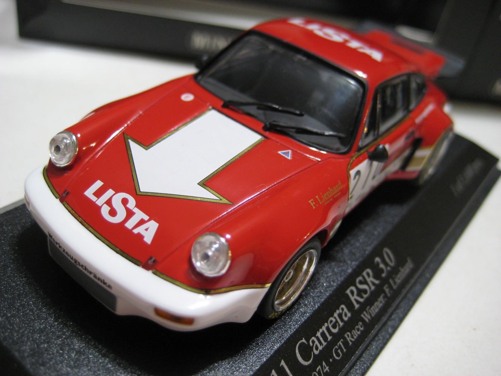 Paul's Model Art Porsche Carrera RSR Uomogen Airfield Races GT Race Winner 1974