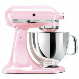 Image Is Loading Kitchenaid Ksm150pspk Pink Komen Foundation Series 5