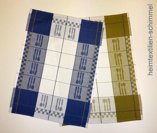 2er Set Jacquard Geschirrtuch Küchentuch Handtuch Küchenhandtuch Küche Baumwolle