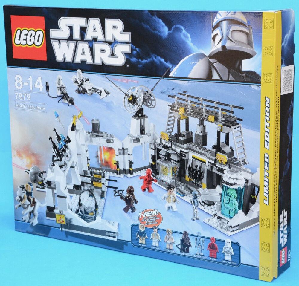 LEGO 7879 - Hoth Echo Base - STAR WARS - 2011 - MISB Luke Han Leia R-3PO 2-1B