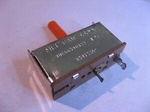 80C66390A22-4-5A-Reset-Button-Mel-Rain-Replacement-Part-Television-TV-NOS-Qty-1
