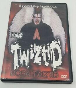 Twiztid - Born Twiztid Beyond the Freekshow DVD insane clown posse blaze hok icp