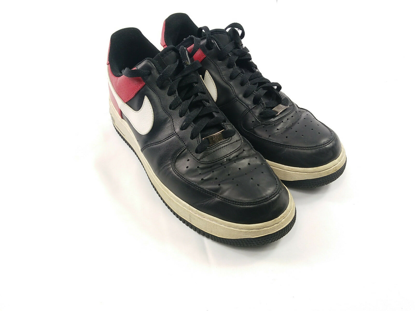 f77d2b5a210f Nike Air Force 1 07 Red Black White Size 12 12 12 315122- MEN S SIZE 14  NIKE PRESTO FLY ATHLETIC SHOES ...