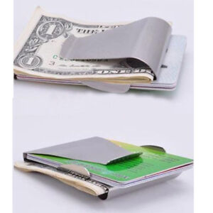 in arrivo vendite speciali alta qualità uomo a Portafoglio clip DONNA con molla e porta carte di ...