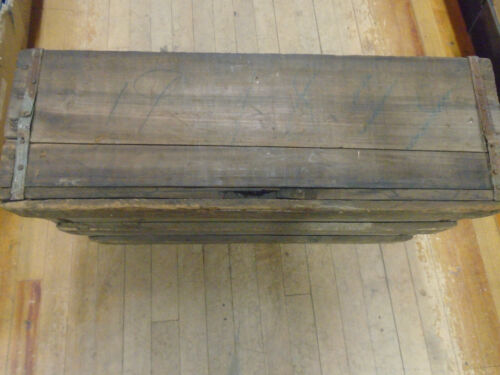 Original Wood Crate from American Flyer Factory A.C.GILBERT IN NEW HAVEN CT