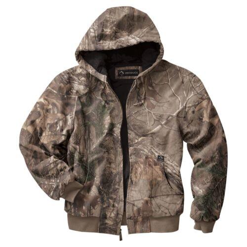 DRI DUCK Realtree XTRA Hooded Camo Camouflage Work Jacket 5020 S-6XL /& Tall