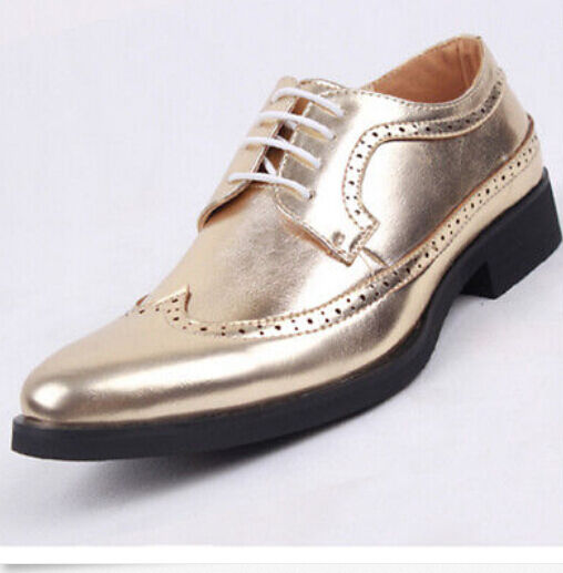 Vogue Mens Oxford Lace UP Work wing tip Dress Casual Business Brogue shoes hot S