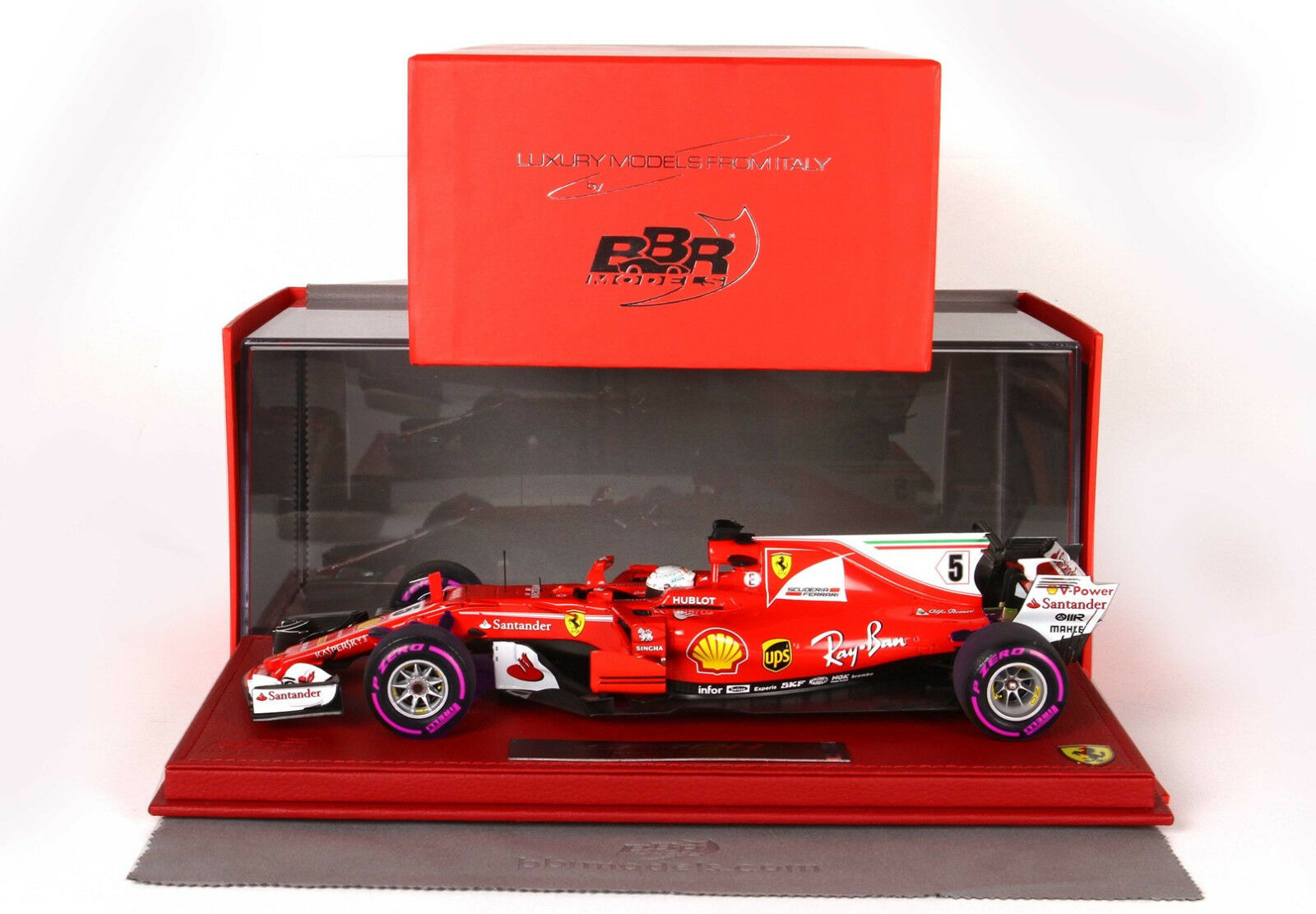 minoristas en línea Ferrari SF70-H SF70-H SF70-H G.P. Montecarlo 2018 winner Vettel - start race  BBR1875MSR  barato