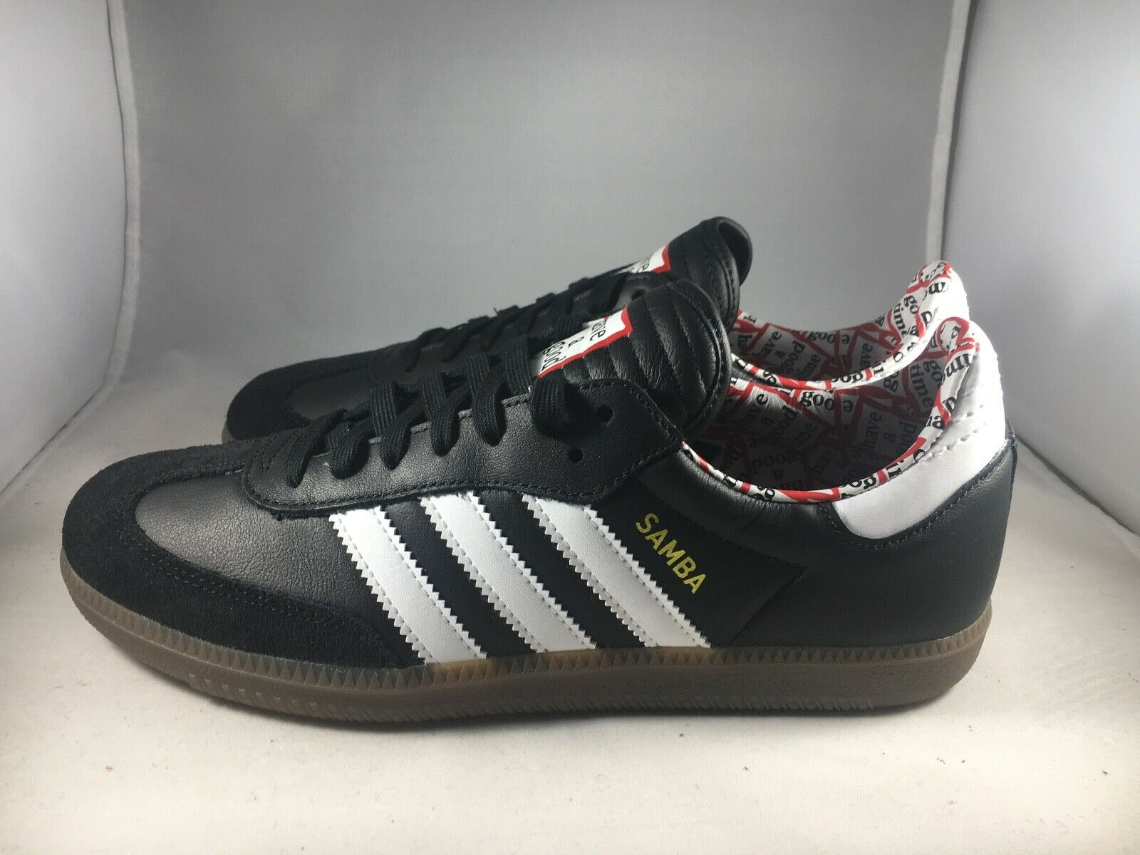 Adidas Samba HAGT Black Have A Good Time NIB BD7362