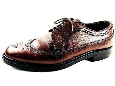 Dacks Wingtip Brogue Men's Brown Shoes