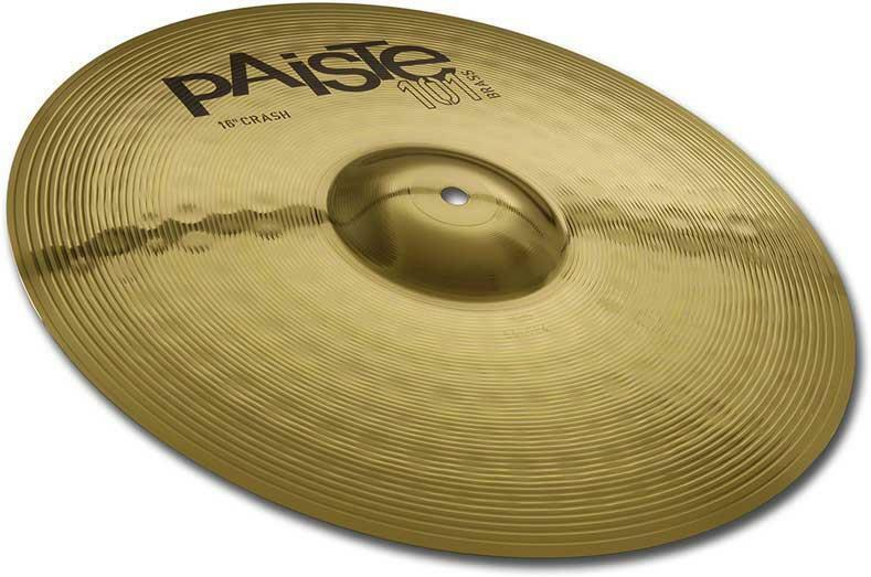 Paiste 101 Brass Crash (16in)