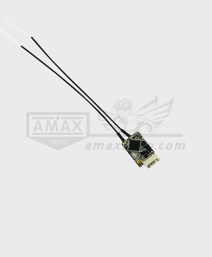 FrSky R-XSR Empfänger mit Telemetry & Smart Port 2,4 GHz (EU LBT) 16CH SBUS 1,5g