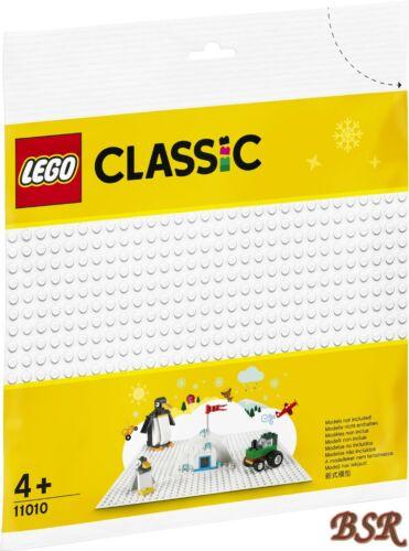 """Lego 11010 Blanc Plaque de Base Panneau Construction /"""" Neige /"""" 32x32 Bosses /&"""
