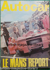 Autocar 15 June 1967 - Road Test: Singer Gazelle - Full 1967 Le Mans Report