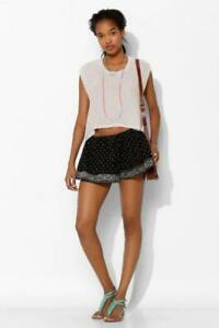 Ecote-Urban-Outfitters-Starry-Night-Swing-Embroidered-Shorts-Boho-M-New-190321