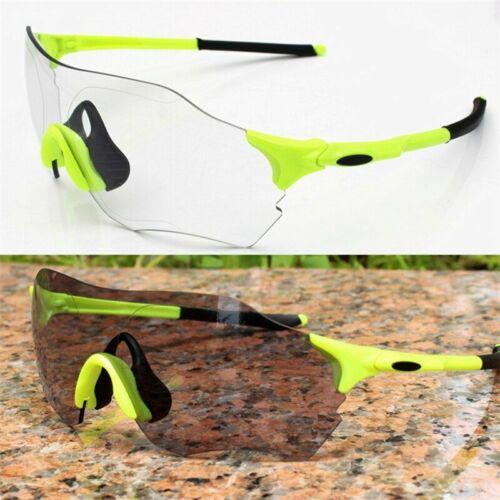 Photochromic Sunglasses Auto Lens Sports Cycling Discoloration Glasses Men Women