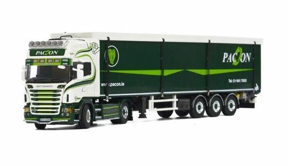 WSI SCANIA MODEL Scania R560 PACON WASTE DUBLIN STAS WALKING FLOOR  V8 1.50