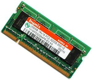 Hynix-256MB-DDR2-PC2-3200-Sodimm-400Mhz-LAPTOP-Memory-Ram-FREE-Post-from-SYDNEY