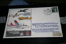 Primo giorno di Copertura-Chiusura della RAF ha 1975 Stirling 7 SQUADRONE Varsity