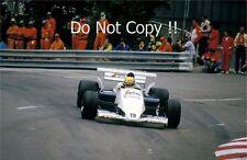 Ayrton Senna Toleman TG184 Monaco Grand Prix 1984 Photograph 1