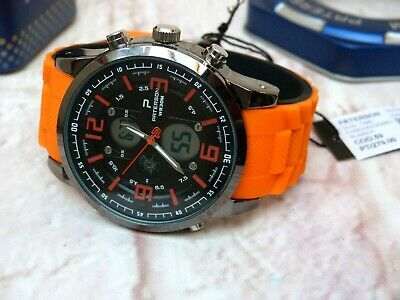 Montre Homme Paterson Sport Dual Time Chronograph Rubber