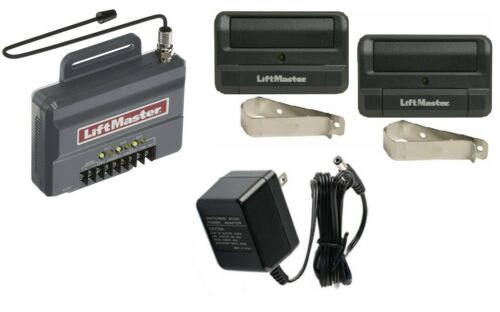 2 LiftMaster Remotes Security+2.0 Universal Receiver kit 85LM PWR NEW 850LM