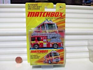 Matchbox-Lesney-Edition-Red-DENNIS-SABRE-FIRE-ENGINE-New-Mint-in-Nu-Mint-Package