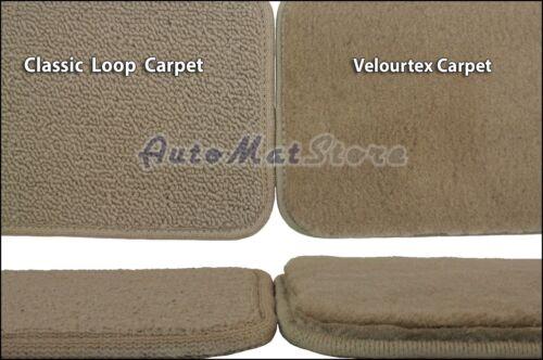 Cadillac XTS 4pc Velourtex Carpet Floor Mat Set Choose Color /& Logo