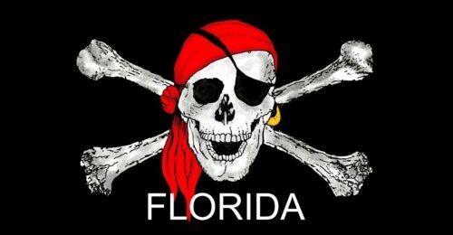 "30/"" x 60/"" Buccaneer Florida Beach Towel"