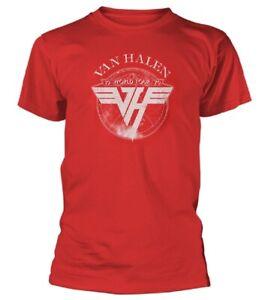 VAN-HALEN-1979-Tour-Red-T-Shirt