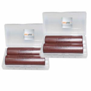 4er-Premium-Set-LG-HG2-18650-Akku-20-A-3000-mAh-Akkus-mit-Akkuboxen