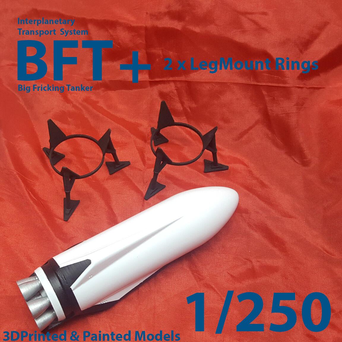 ITS BFT (Tanker) Set - 3Dprinted & Painted Models