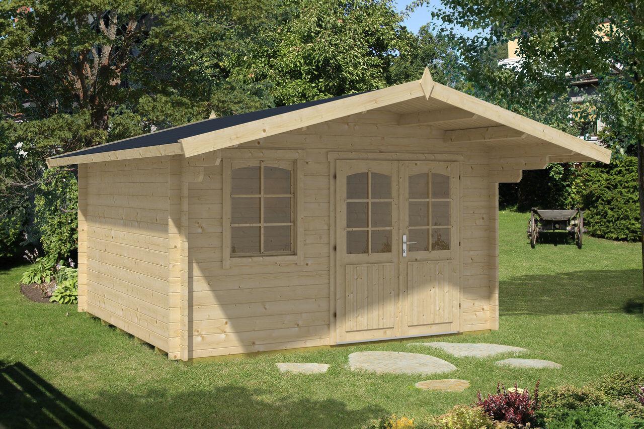 gartenhaus vordach blockhaus ger tehaus holzhaus schuppen. Black Bedroom Furniture Sets. Home Design Ideas