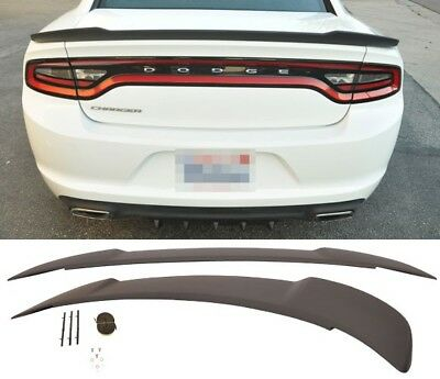 painted factory style hellcat spoiler fits the 2011 2018 dodge charger ebay painted factory style hellcat spoiler