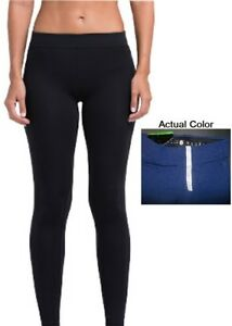 Vansydical-Desiccation-Leggings-Pants-NAVY-Blue-Size-Small-Butt-Lifting-Exercise