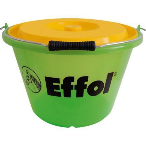 Effol Eimer 17 Liter Futtereimer mit Deckel Kunststoff