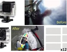 GoPro Pro Anti-Fog Drying Reusable Inserts for HERO+Session Cameras x 12