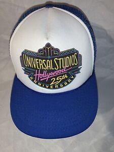 Universal-Studios-Hollywood-25th-Anniversary-Hat-Vintage-Mesh-Trucker-Snapback