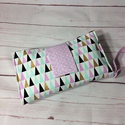 Nappy Wallet Fox and Triangles