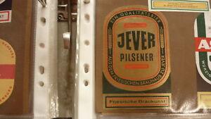 OLD GERMAN BEER LABEL, FRIESISCHES BRAUHAUS JEVER GERMANY, JEVER PILSENER
