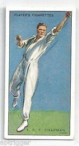 1930 John Player & Sons (7) A. P. F. CHAPMAN Kent